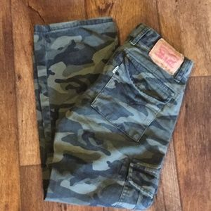 Levi 505 Regular Camo 8 Pants